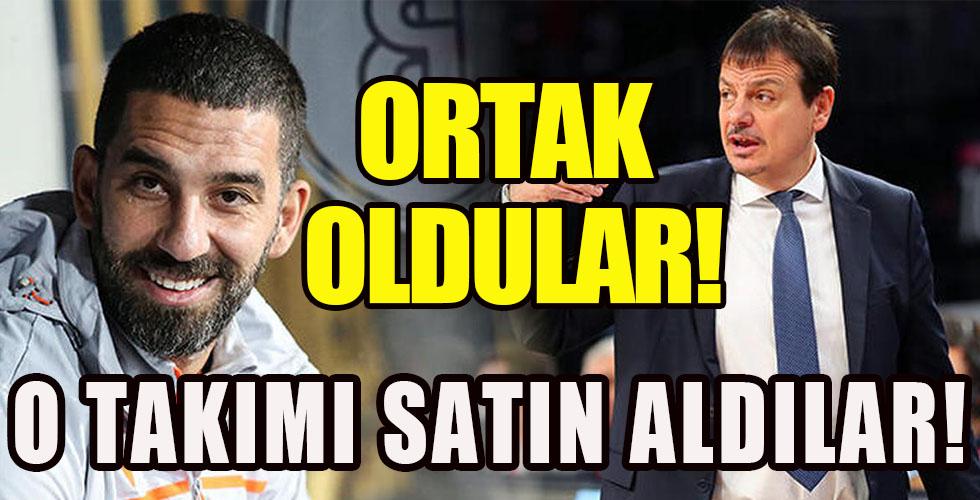Ergin Ataman ve Arda Turan İtalya'da takım satın aldı!