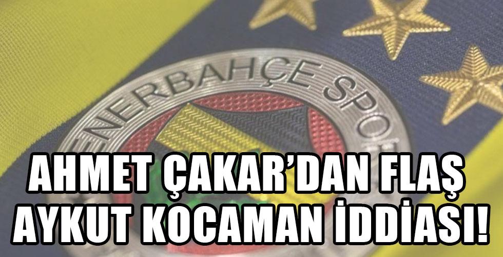 Fenerbahçe'de Aykut Kocaman iddiası!