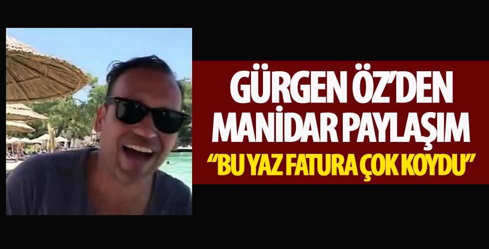 Gürgen Öz, binlerce liralık beach faturalarını eleştirdi