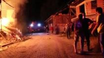 DEVLET HASTANESİ - Bolu'da bir evde çıkan yangında iki çocuk yaşamını yitirdi