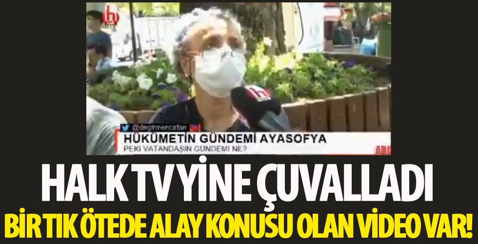Halk TV'de yeni bir algı operasyonu! 'Herkes aç' palavrası alay konusu oldu