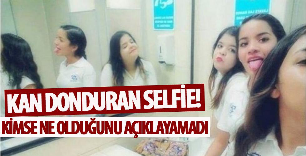 Kan donduran selfie fotoğrafı! Kimse ne olduğunu açıklayamadı