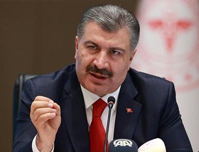 Sağlık Bakanı Fahrettin Koca'dan son dakika açıklaması
