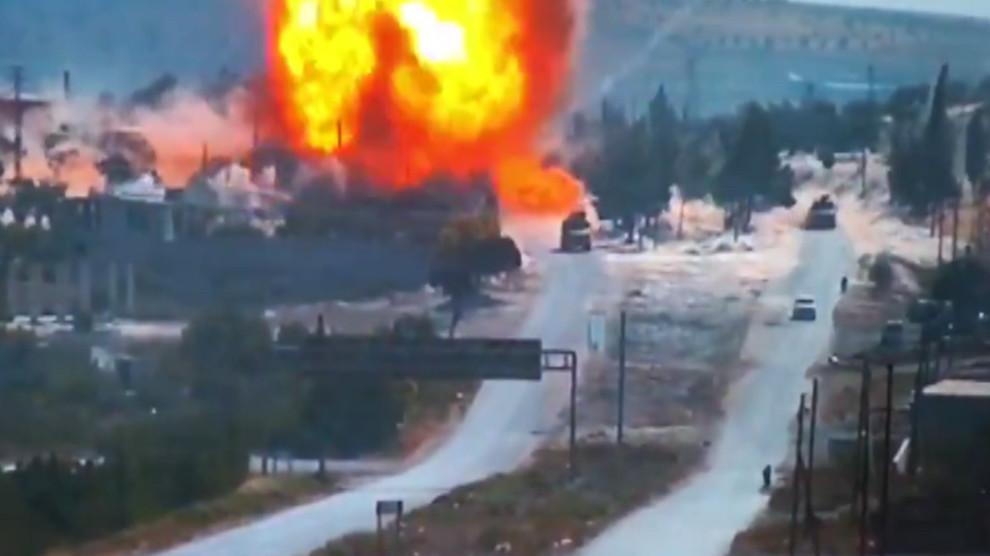 Türk-Rus devriyesine bombalı saldırı!