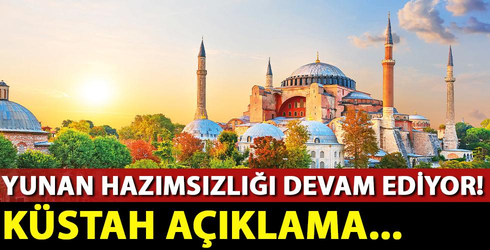 Yunan kilisesinden Türkiye'ye skandal 'Ayasofya' çağrısı