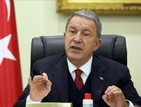 DENIZ KUVVETLERI KOMUTANı - Bakan Hulusi Akar'dan Ermenistan'a sert tepki