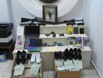 İSTIHBARAT - PKK operasyonunda ele geçirildi 33 spor ayakkabı meğer...
