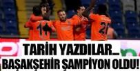 KAYSERISPOR - Başakşehir şampiyon oldu...