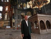 CUMA NAMAZI - Başkan Erdoğan ikinci kez Ayasofya Camii'nde!