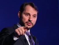 HÜKÜMET - Berat Albayrak'tan Halkbank açıklaması!