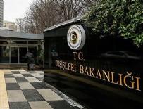 DıŞIŞLERI BAKANLıĞı - Dışişleri Bakanlığı'ndan Yunanistan'da Türk bayrağı yakılmasına çok sert tepki!