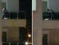 ANTALYA - Karısını balkonda bayıltana kadar dövdü!