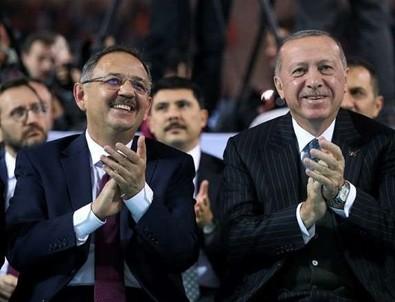 Erdoğan ve Mehmet Özhaseki arasında gülümseten diyalog!