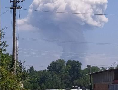 Sakarya'da havai fişek fabrikasında patlama: 2 ölü 74 yaralı