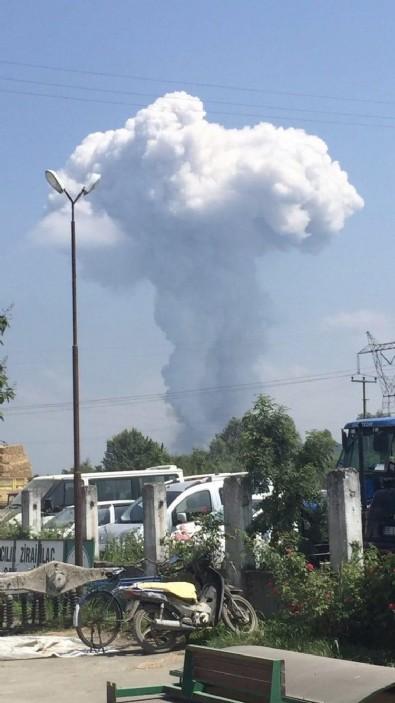 Sakarya'daki patlama sonrası korkutan iddia! AFAD, açıklama yaptı