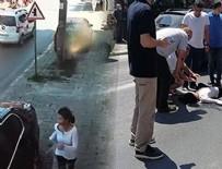 POLİS - Babasından kaçarken olanlar oldu...!!!