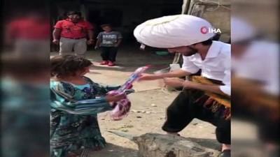 Alaaddin'in Sihirli Lambasıyla Çocukları Sevindirdi