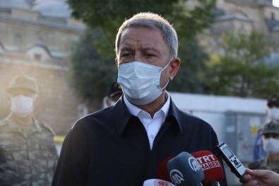Milli Savunma Bakanı Akar'dan Yunanistan açıklaması