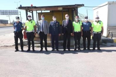 Protokolden Güvenlik Güçlerine Bayram Ziyareti