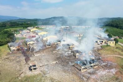 Sakarya'daki havafi fişek fabrikasında meydana gelen patlamaya soruşturma başlatıldı