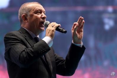 Başkan Erdoğan dev projenin açılış töreninde konuşuyor