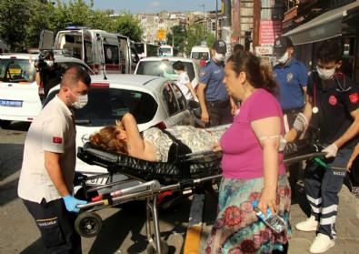 Emniyet Müdürlüğü önünde kadını silahla yaraladı