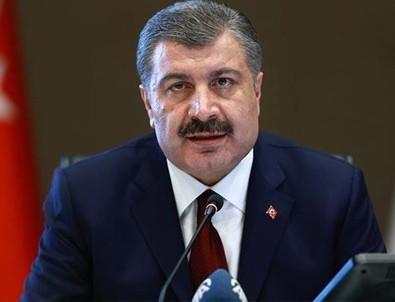 Sağlık Bakanı Fahrettin Koca coronavirüs vaka ve vefat sayısını açıkladı