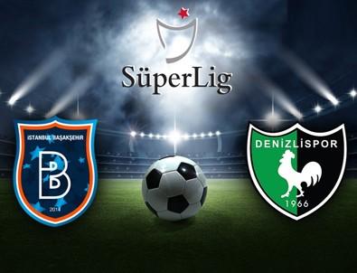 Başakşehir: 2 - Denizlispor: 0 maç sonucu