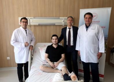 Ankara'da tarihe geçen operasyon:Yüzünün yarısı alındı, bacağından yeni yüz yapıldı!