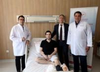 AMELIYAT - Ankara'da tarihe geçen operasyon:Yüzünün yarısı alındı, bacağından yeni yüz yapıldı!