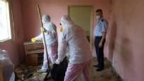 HARMANDALı - 30 metrekarelik evden çıkanlar şoke etti! Vatandaşlar ihbar etti