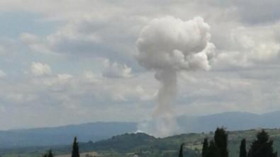 Sakarya'da şiddetli bir patlama daha! Yaralı askerler ve siviller var