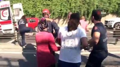 Arızalanıp Yol Kenarına Çekilen Araca Otomobil Çarptı Açıklaması 3 Yaralı
