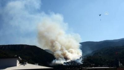 GÜNCELLEME - İzmir'in Kemalpaşa İlçesinde Orman Yangını Çıktı