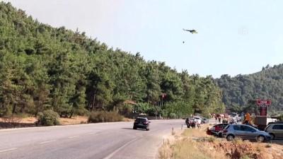 GÜNCELLEME - İzmir'in Menderes İlçesinde Orman Yangını Çıktı