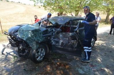Taşköprü'de Trafik Kazası Açıklaması 1 Yaralı