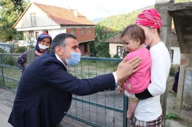 Vali Atay Vatandaşlarla Bayramlaştı