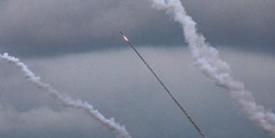 Akdeniz'de önemli gelişme! Gazze Şeridi'nden 5 füze birden ateşlendi