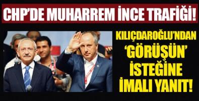 CHP Genel Merkezi'nde İnce trafiği! Kılıçdaroğlu'ndan 'görüşün' isteğine dikkat çeken yanıt...