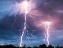 YAĞIŞ UYARISI - Meteoroloji o illeri uyardı! Sağanak, yıldırım...!!!
