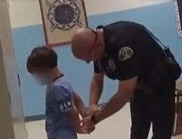 SAN ANTONIO - ABD'de 8 yaşındaki engelli çocuğa ters kelepçe