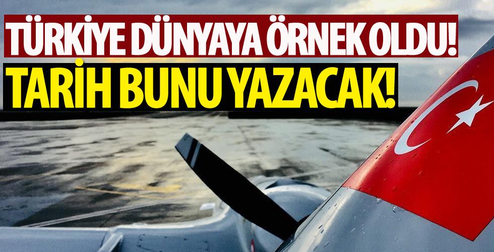 Türkiye dünyaya örnek oldu! Büyük başarı
