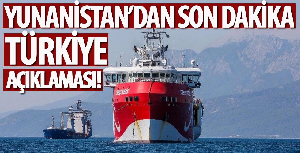 Yunanistan'dan son dakika Türkiye açıklaması