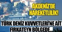 KıBRıS - Akdeniz'de hareketlilik!