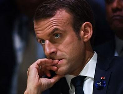 Macron Türkiye'ye gözdağı vermeye kalktı!