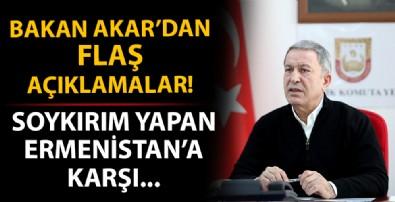 Bakan Akar'dan Azerbaycan mesajı!