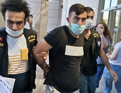 Genç kadına dehşeti yaşatan maganda tutuklandı!