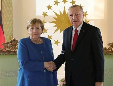 Başkan Erdoğan'dan Merkel'e çok net 'Oruç Reis' yanıtı!