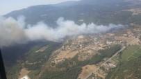 HELIKOPTER - İzmir'de orman yangını!