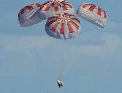 Space X'in astronotları geri döndü!